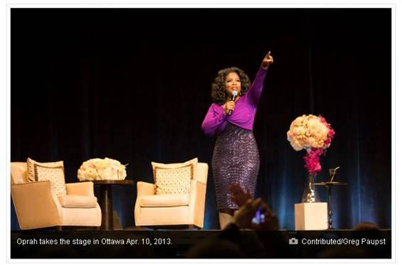What's It Like to Do Flowers for Oprah?