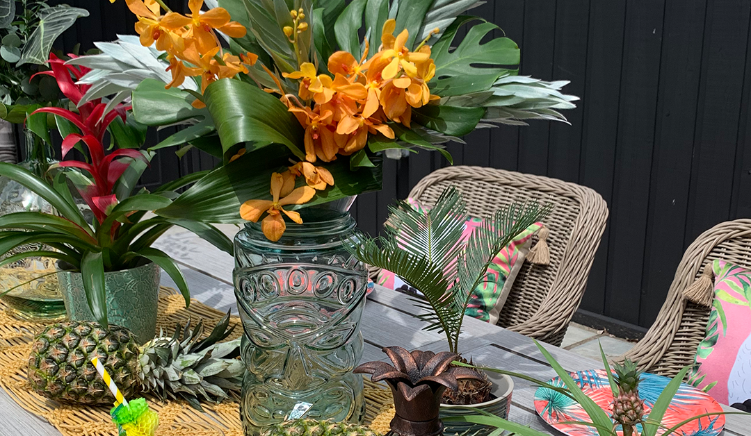 Create Your Own Tropical Table