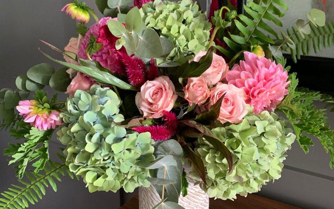 Create Your Own Late Summer Vase Arrangement