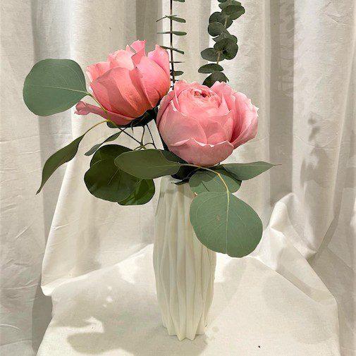 Elegant Arrangement in Folded Vase