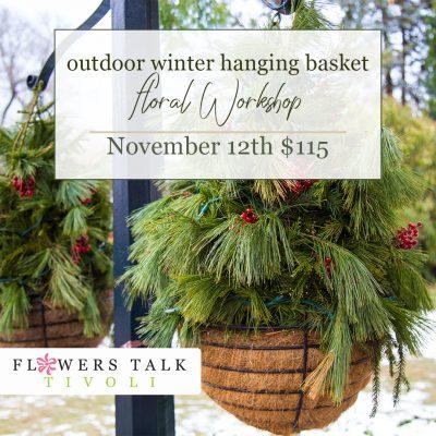 Winter Hanging Basket Workshop