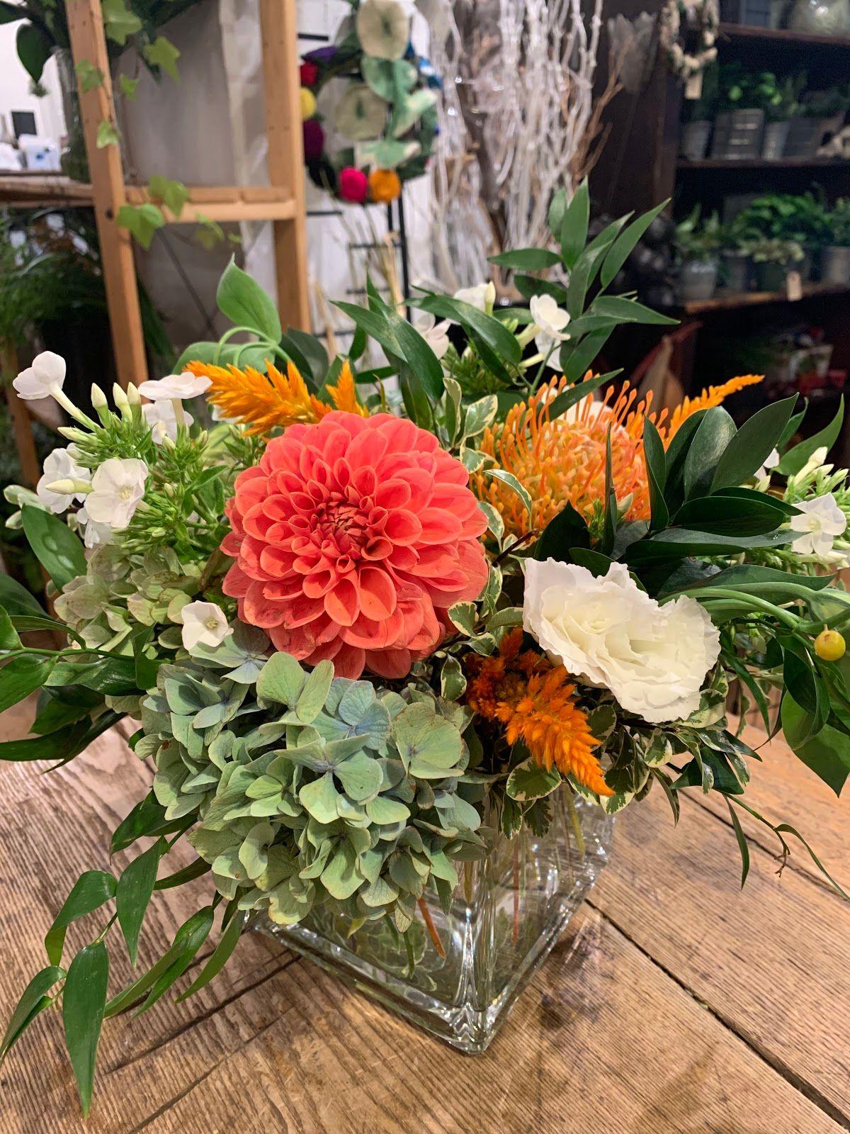 Sweet Arrangement with Keepsake Vase