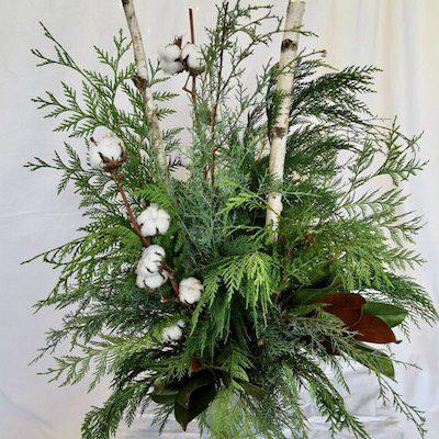 Winter Greenery Arrangement